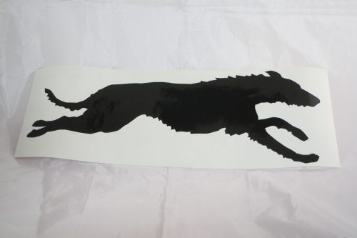 Deerhound rennt 49 x 19